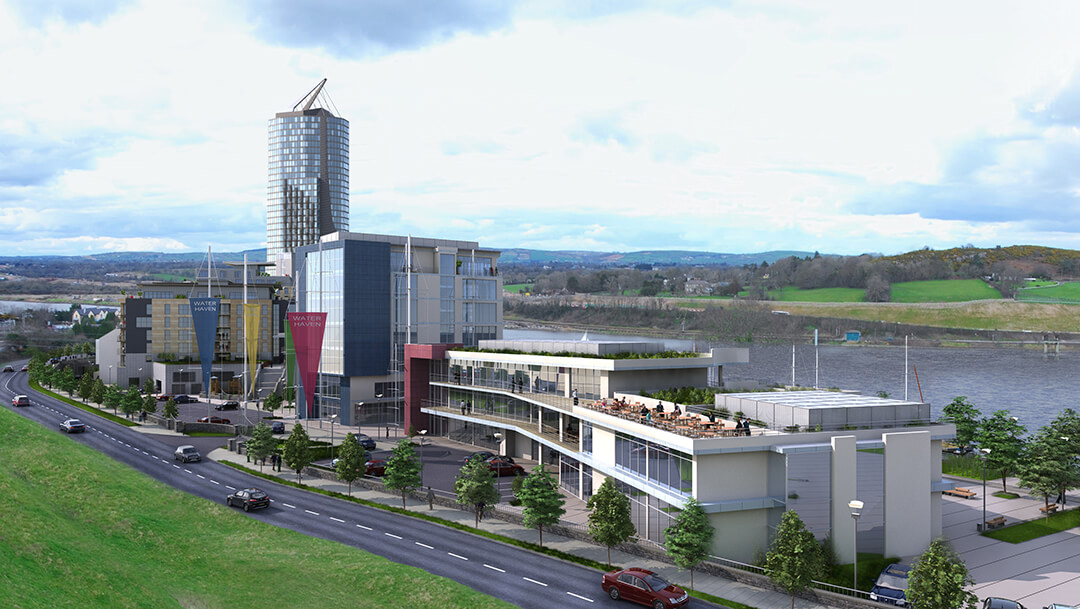 Waterford South Quays Development / 'Waterhaven' Tower, South Quays, Waterford, Ireland