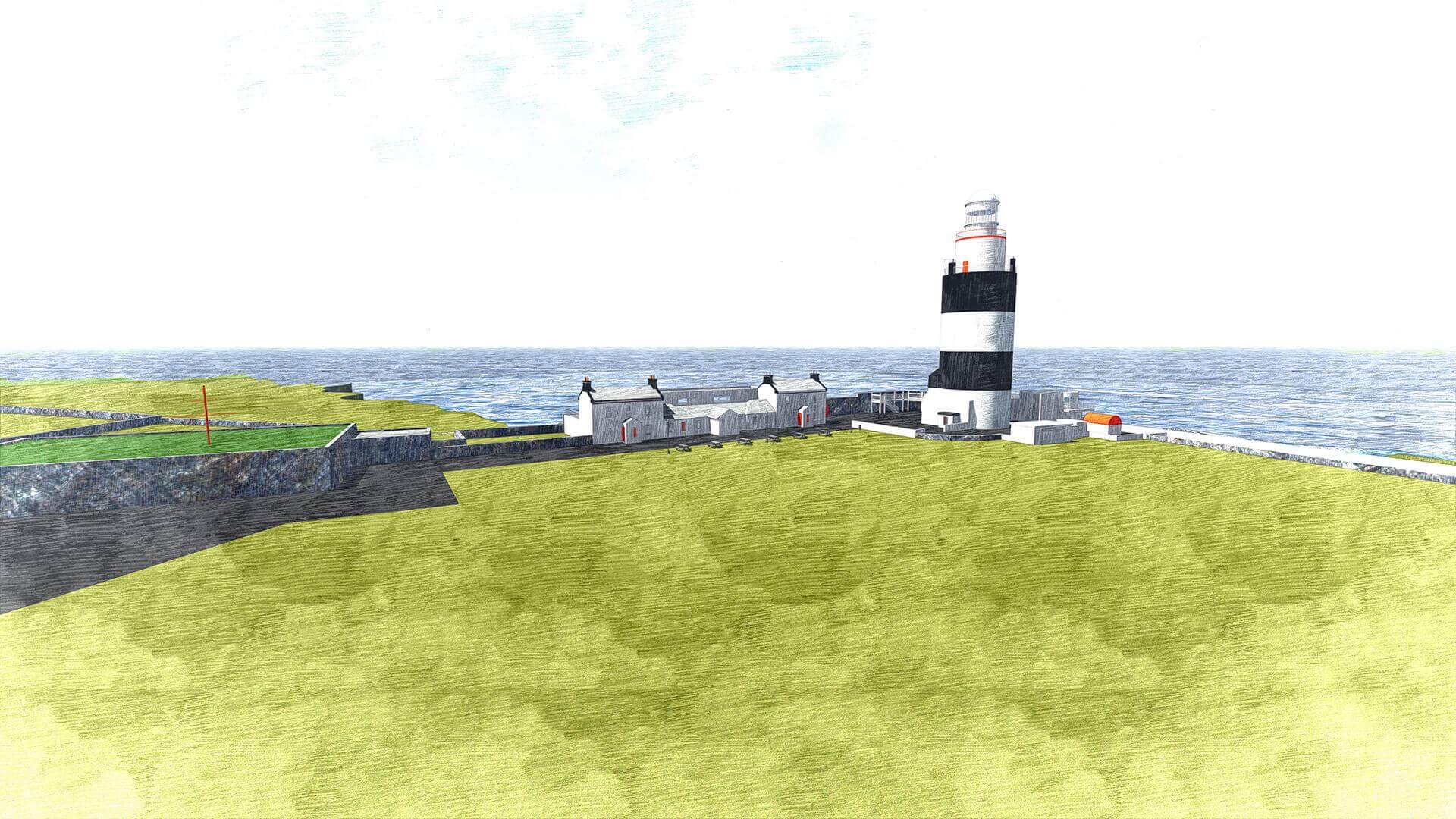 New Visitor Centre & Experience, at Hook Lighthouse, Hook, Co. Wexford, Ireland