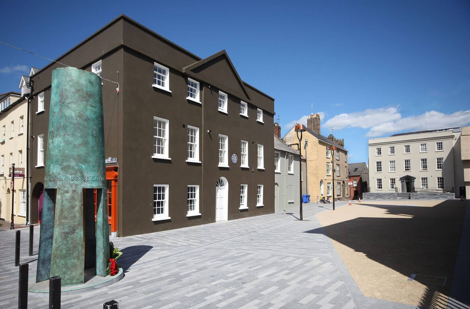 Redevelopment & Restoration of Chairman's Arch, Cathedral Square, Co. Waterford, Ireland