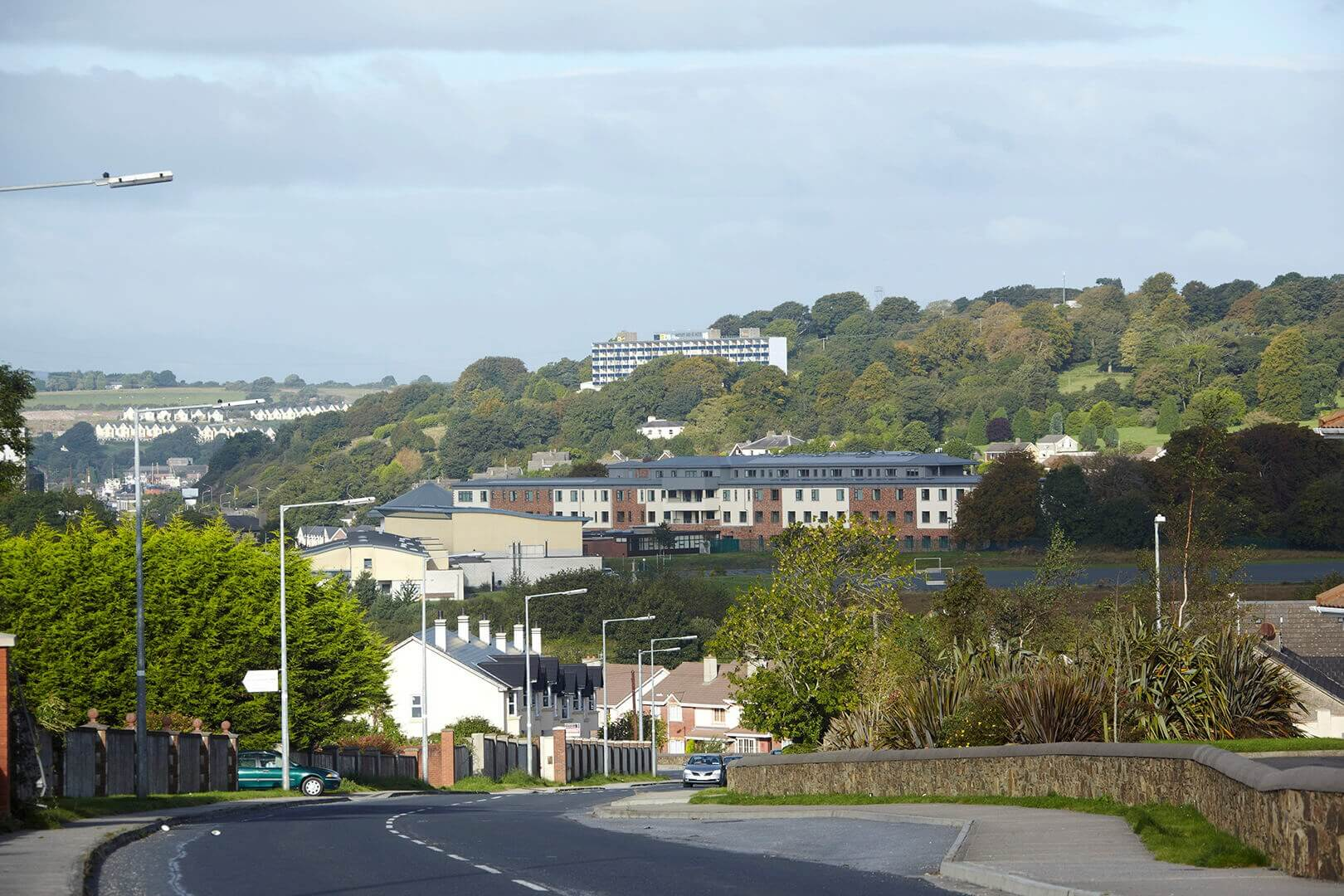 Distant View of Little Sisters of the Poor, Convent & Care-Home, Ferrybank, Co. Waterford, Ireland