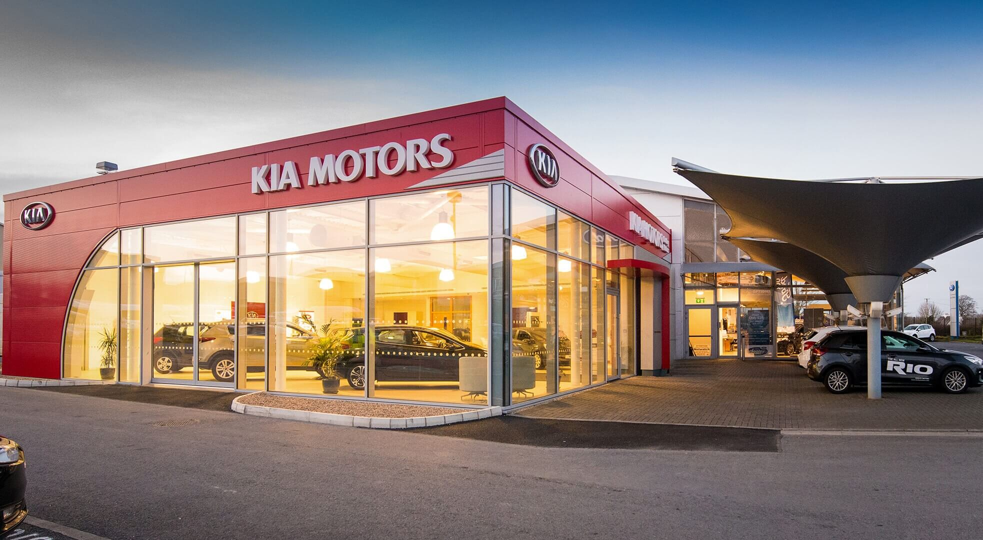 Kia Ireland 'Kia Cube', Dooley Motors, Sleaty Road Roundabout, Co. Carlow, Ireland