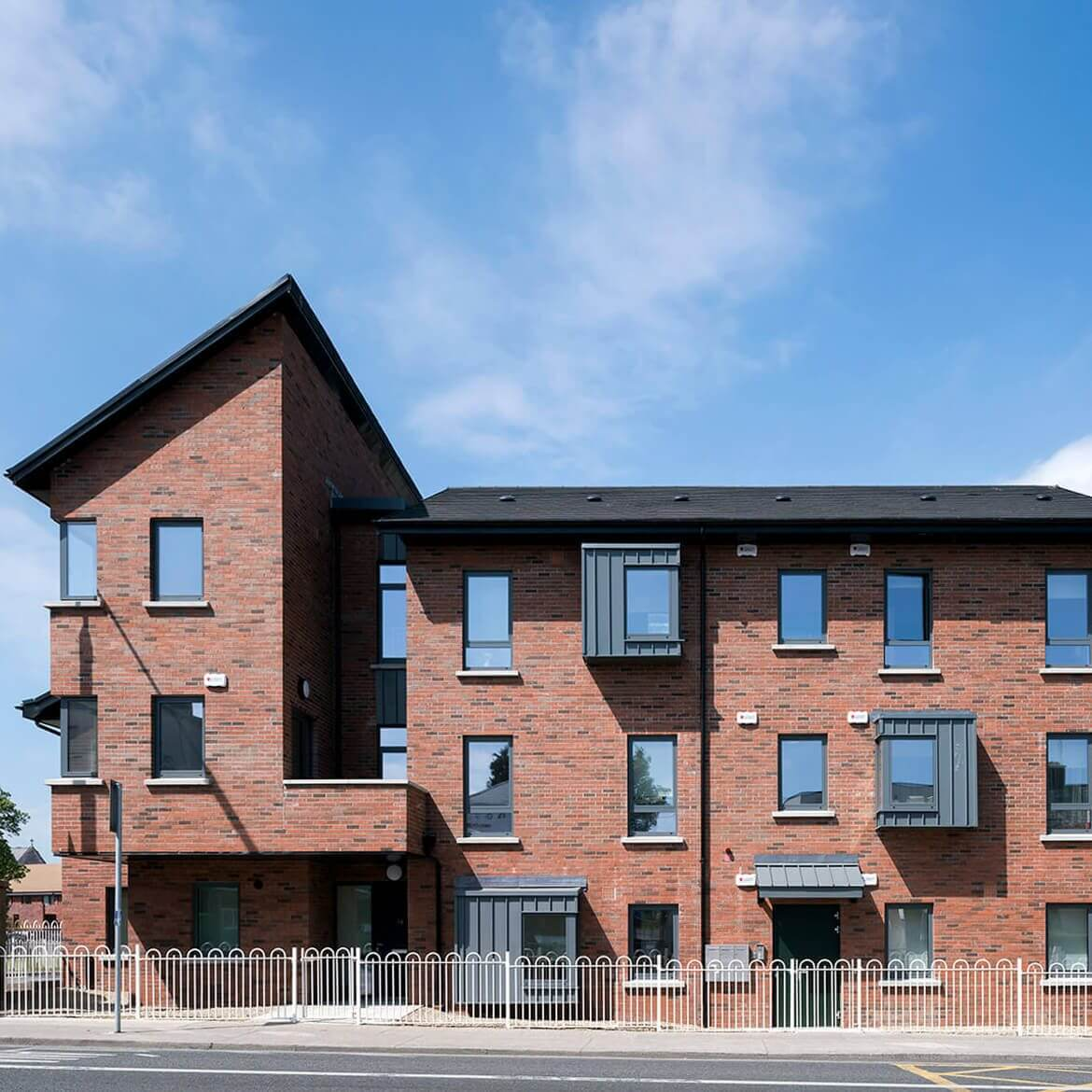 Residential Cjfa Architecture Greenmount Close Harolds Cross Dublin Square