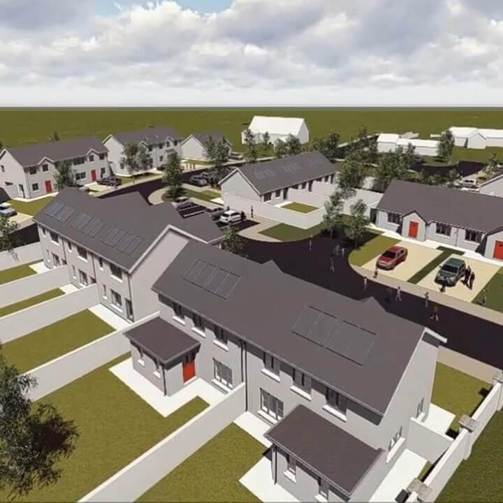 Residential Cjfa Architecture Housing Ballinroad Dungarvan Co  Waterford Square