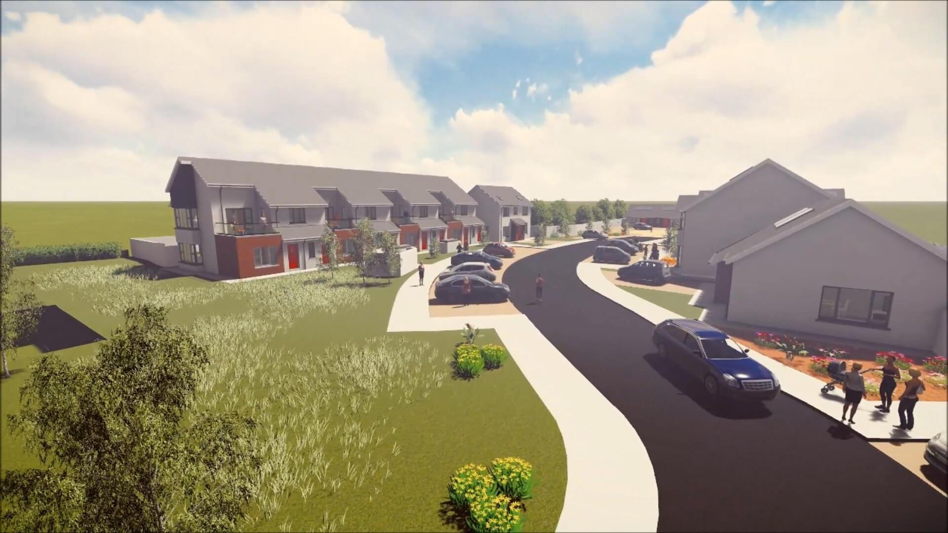 Kilkenny County Council Residential Development - Social Housing at Ballyragget, Co. Kilkenny, Ireland
