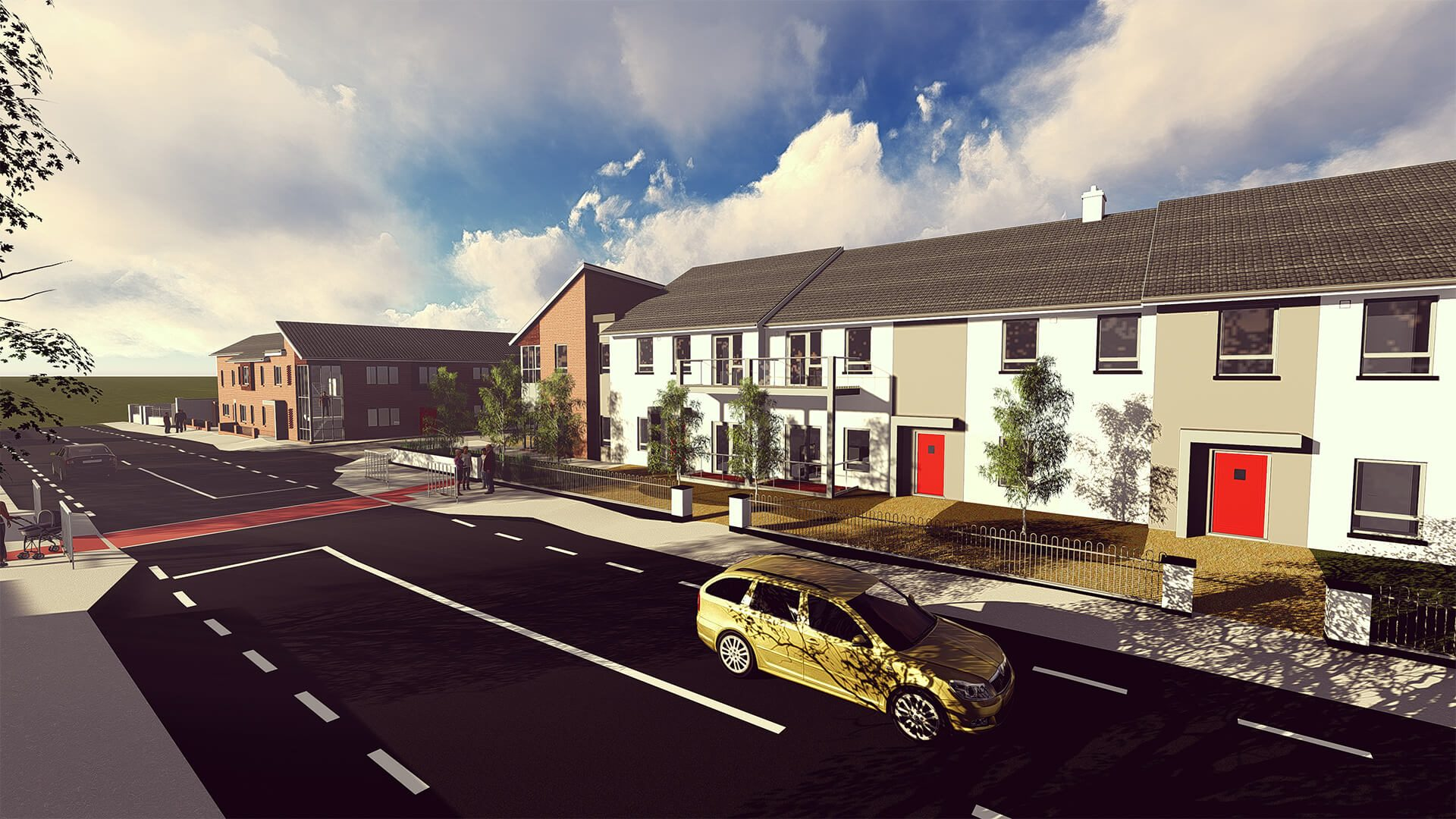 Kilkenny County Council Residential Development - Social Housing & Redevelopment of The Bróg Maker, Castlecomer Road, Co. Kilkenny, Ireland