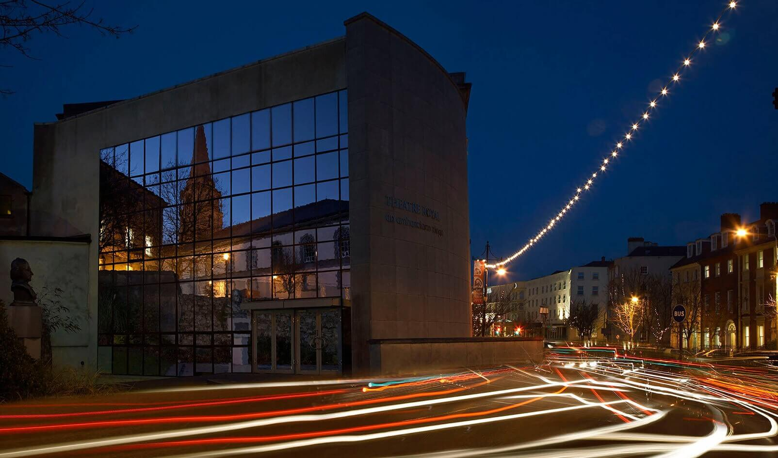 Slider Image Community Cultural Conservation Regeneration Cjfa Architecture Theatre Royal City Hall Waterford
