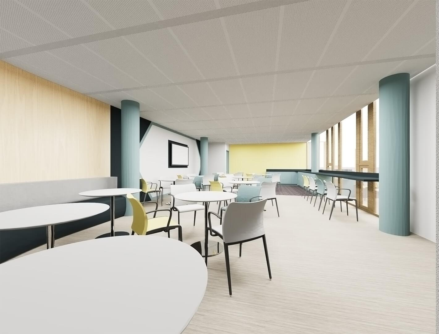 Global Financial Services Client in Luxembourg - Architectural Support and Fit-Out Project