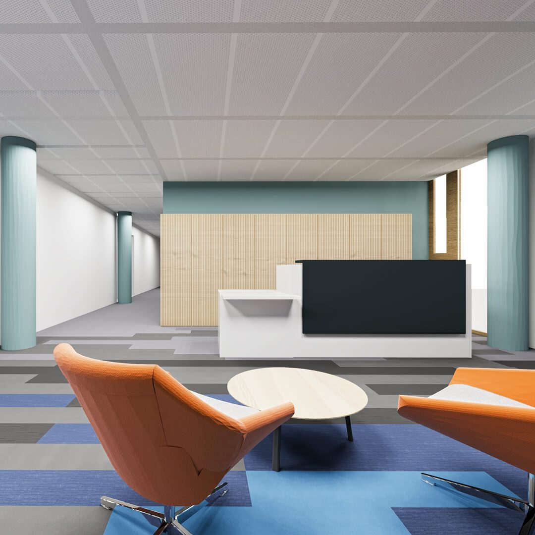 Workplace Fit Out Cjfa Architecture International Financial Services Client H Q  Square